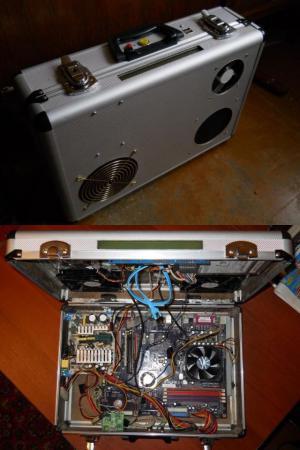 PC v kufříku