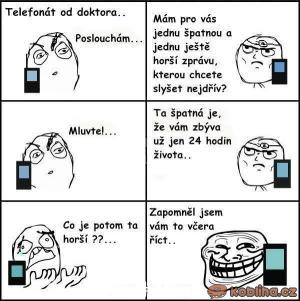 Telefonát od doktora