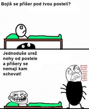 Příšera pod postelí