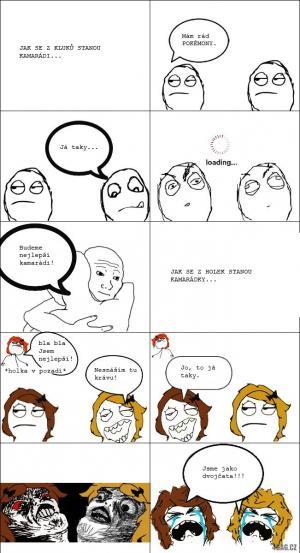 Jak se stát kamarádem