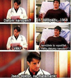 Doktor ne matematik