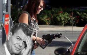 Tankování benzínu