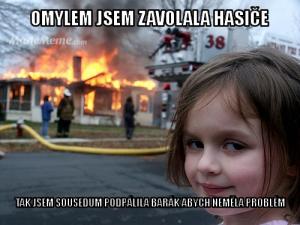 Požár