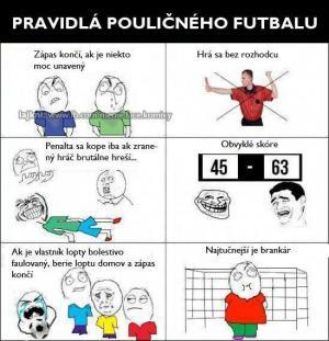 Pouliční fotbal :)