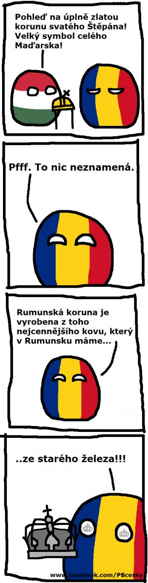 Rumunská koruna