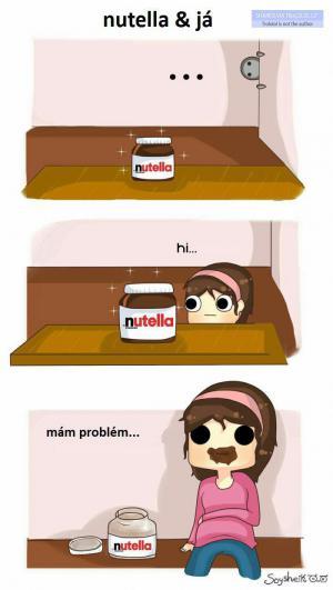 Nutella a já