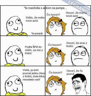 Manželé