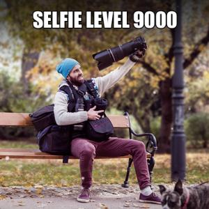 Zrcadlovkář selfie