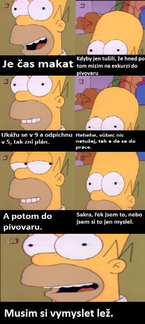 Homer a pivovar