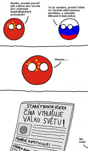 Rusko poradí