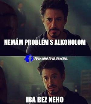 Problémy s alkoholem