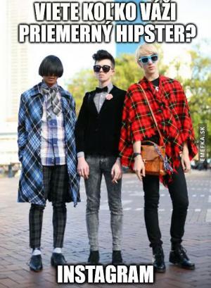 Průměrný hipster