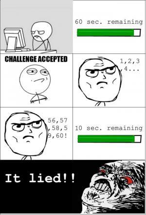 60 sec. remaining