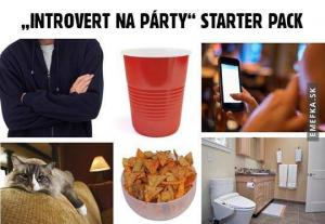 Introvert na party