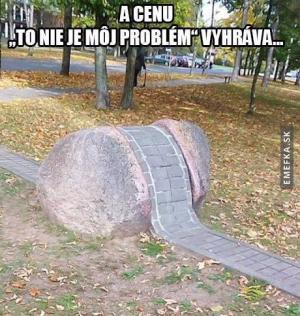 To není můj problém