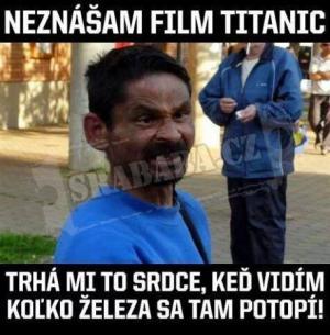 Nesnáším film Titanic