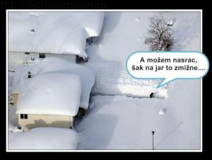 Problémy se sněhem