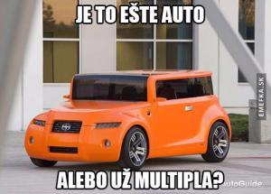 Auto, které je horší než Multipla!