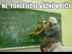 Největší blbec učitel v historii školství :D