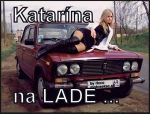Katarina na lade