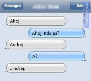Ahoj Andrej