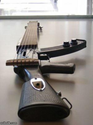 Pistole vs. kytara