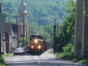 Vlak na ulici