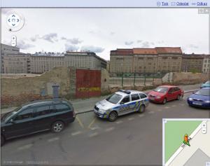 Český Google StreetView