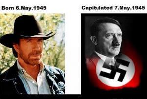 Chuck Norris Vs. Adolf Hitler