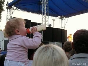 Pitný režim na koncertě