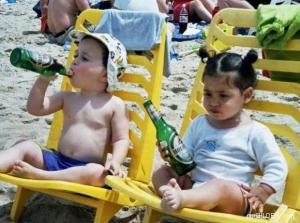 Děti dodržují pitný režim