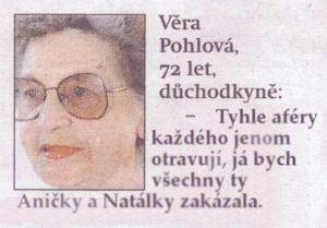 Babča vyřešila...