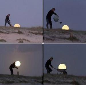 Výkop Měsíce