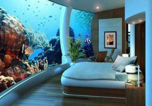 Zajímavá ložnice