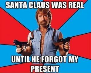 Chuck Norris & Santa Claus