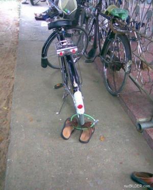 Kvalitní zámek na kolo