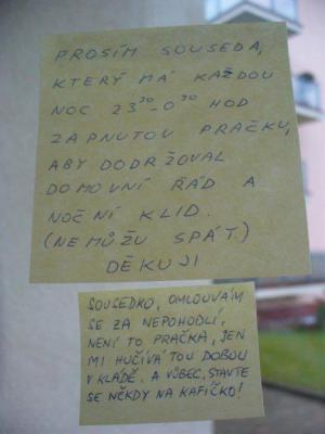Spor mezi sousedy.