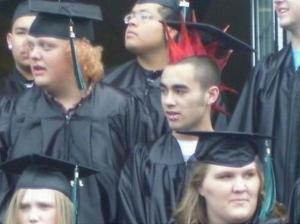 Pankáč absolvent