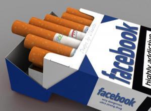Facebook cigarety