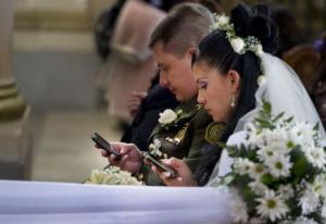 Svatební mobilní obřad