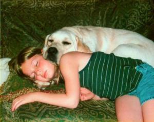 Spaní se psem