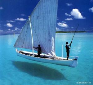 Plachetnice v tropickém ráji