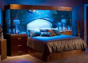 Akváriová postel