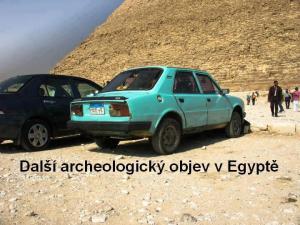 Nový starobylí objev v Egyptě