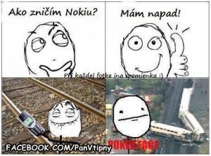 Nerozbitná Nokia