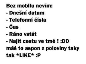 Bez mobilu