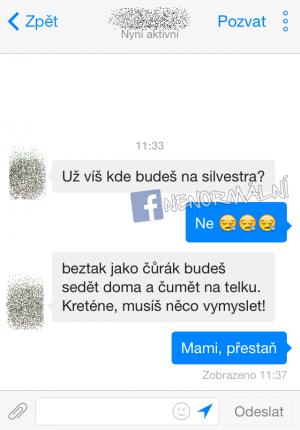 Drsná máma