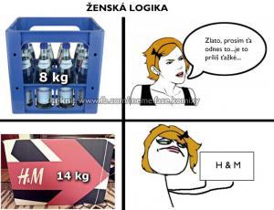 Ženská logika při nakupování