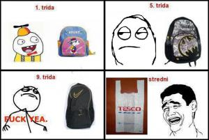 Tašky do školy