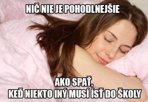 Spánek :)